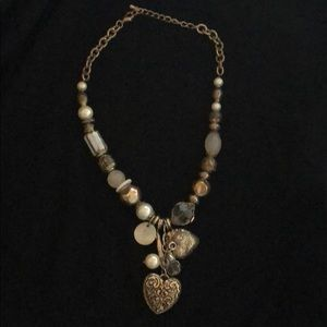 Chunky vintage look necklace